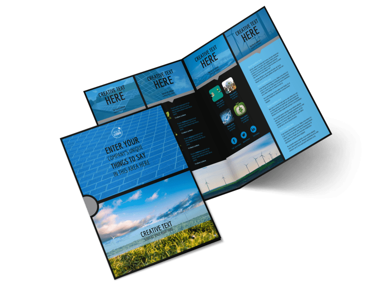 Eco Investments Brochure Template Preview 1