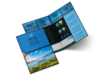 Eco Investments Bi-Fold Brochure Template 2 preview