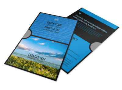 Eco Investments Flyer Template 3