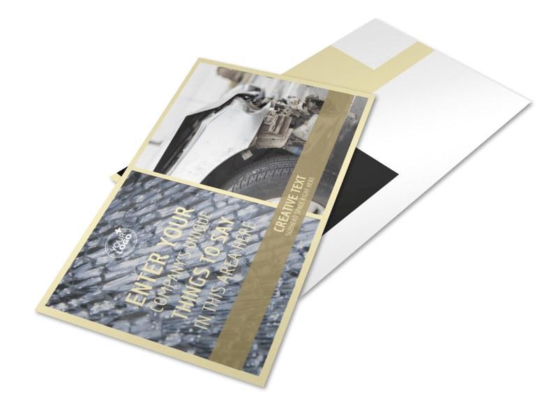 Accident Compensation Postcard Template 2