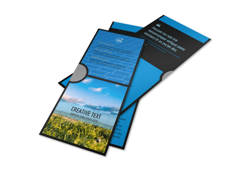 Eco Investments Flyer Template 2
