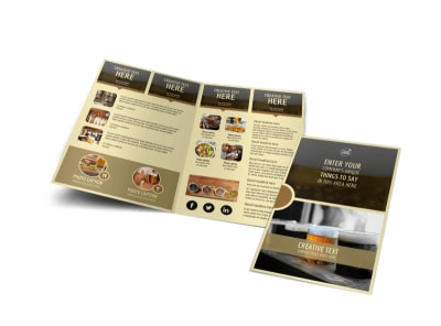 Food Brewery Brochure Template MyCreativeShop - Food brochure templates