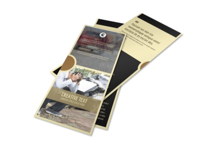 Accident Compensation Flyer Template 2