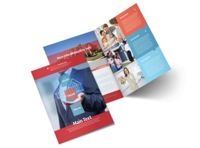 Contemporary & Modern Real Estate Brochure Template 2