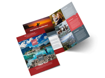 Photography Studio Bi-Fold Brochure Template 2