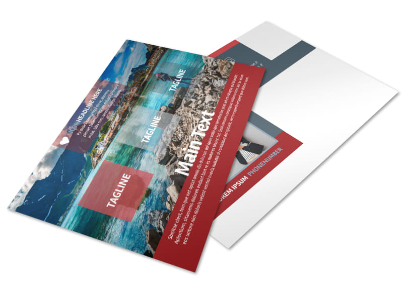 Photography Studio Postcard Template 2