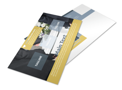Funeral Postcard Templates Template Preview