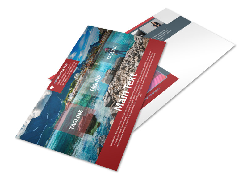 Photography Studio Postcard Template