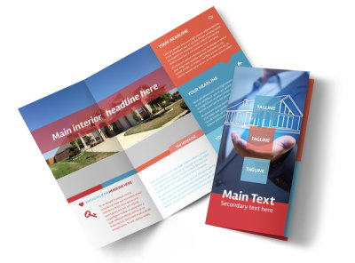 Contemporary Tri-Fold Brochure Template