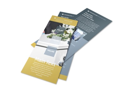 Funeral Service Flyer Template 2 preview
