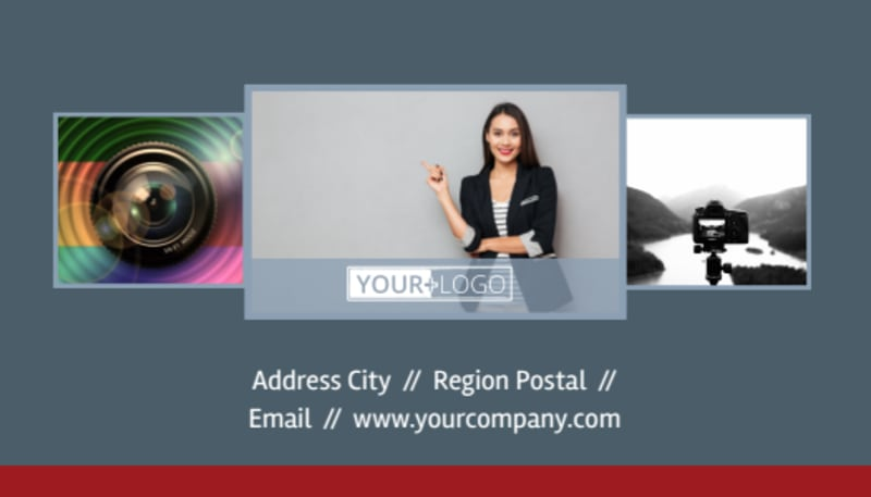 Photographer Business Card Template Preview 3