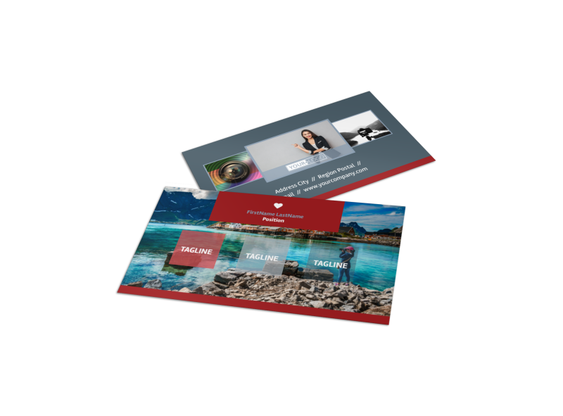Photographer Business Card Template Preview 1
