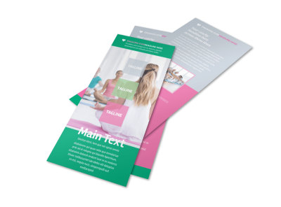 Fit Yoga Class Flyer Template 2 preview