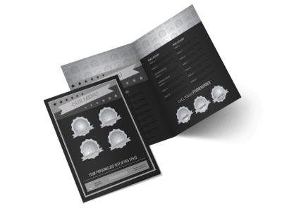 Generic Bi-Fold Brochure Template 10571