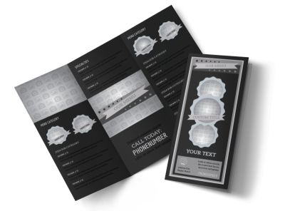 Generic Tri-Fold Brochure Template 10577