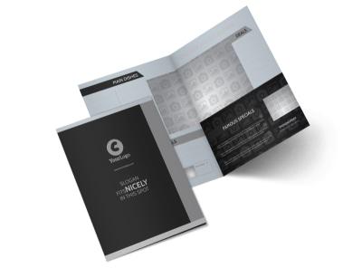 Generic Bi-Fold Brochure Template 10580