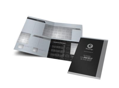 Generic Bi-Fold Brochure Template 10584