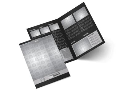 Generic Bi-Fold Brochure Template 10589