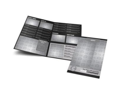 Generic Bi-Fold Brochure Template 10593
