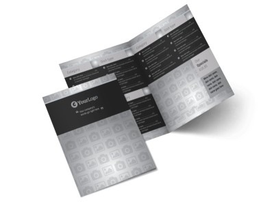 Generic Bi-Fold Brochure Template 10598