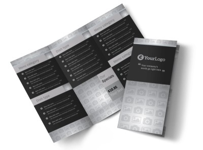 Generic Tri-Fold Brochure Template 10604