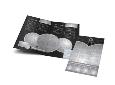 Generic Bi-Fold Brochure Template 10611
