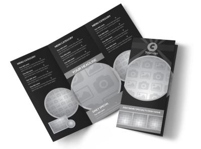 Generic Tri-Fold Brochure Template 10613