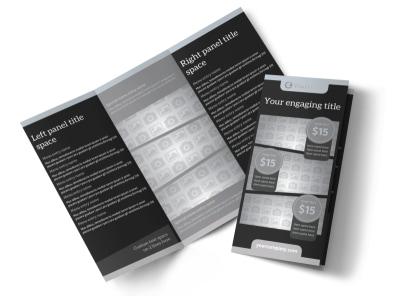 Generic Tri-Fold Brochure Template 10649