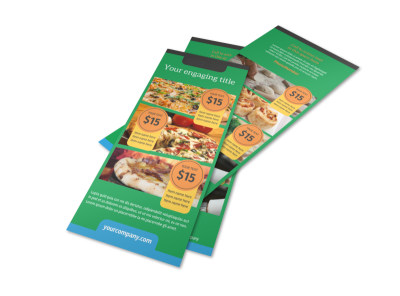 Yummy Pizza Restaurant Flyer Template 2