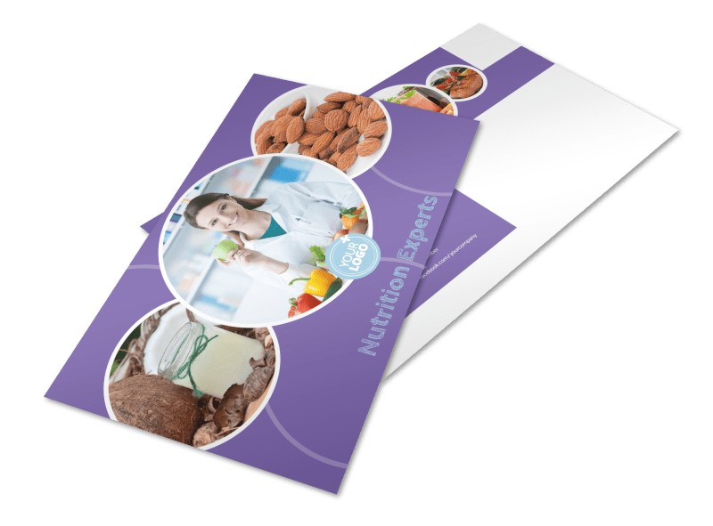 Health Nutrition Experts Postcard Template Preview 4