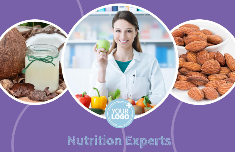 Health Nutrition Experts Postcard Template Preview 2