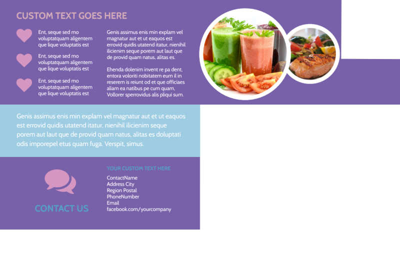 Health Nutrition Experts Postcard Template Preview 3