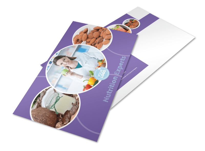 Health Nutrition Experts Postcard Template Preview 1
