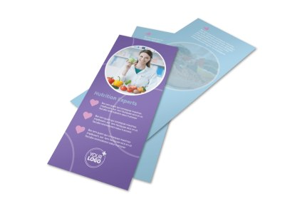 Health Nutrition Experts Flyer Template 2