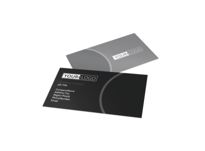 Generic Business Card Template 10664