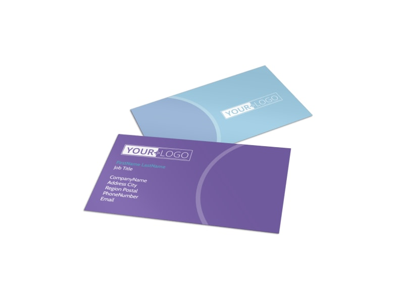 Health Nutrition Experts Business Card Template