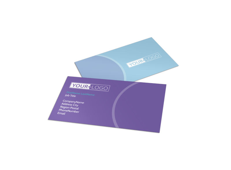 Health Nutrition Experts Business Card Template Preview 1