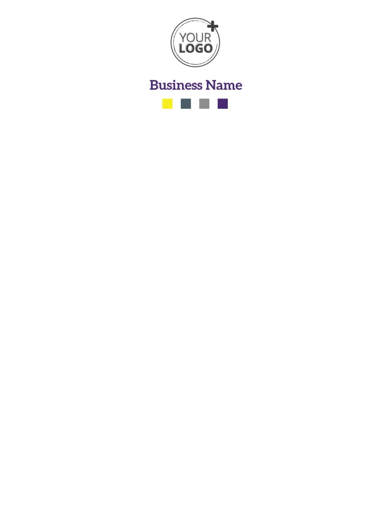 Event Photography Letterhead Template Preview 2