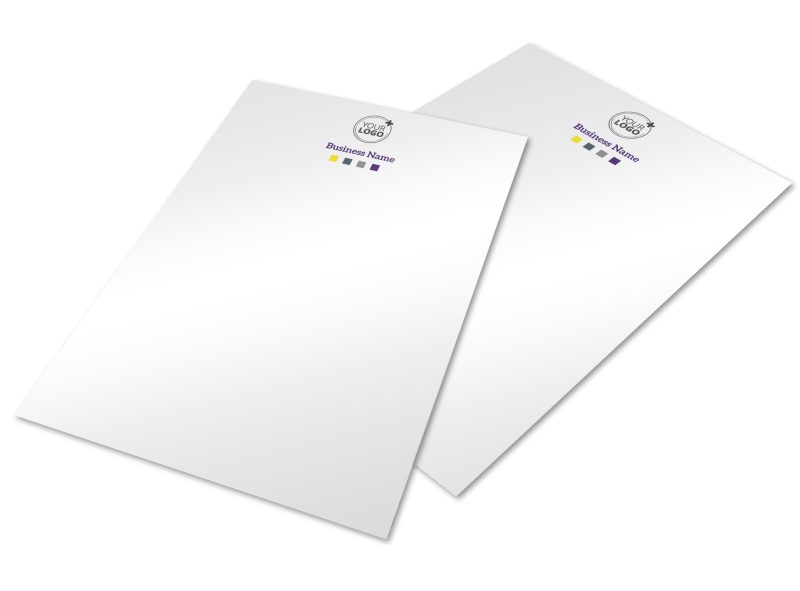 Event Photography Letterhead Template Preview 1