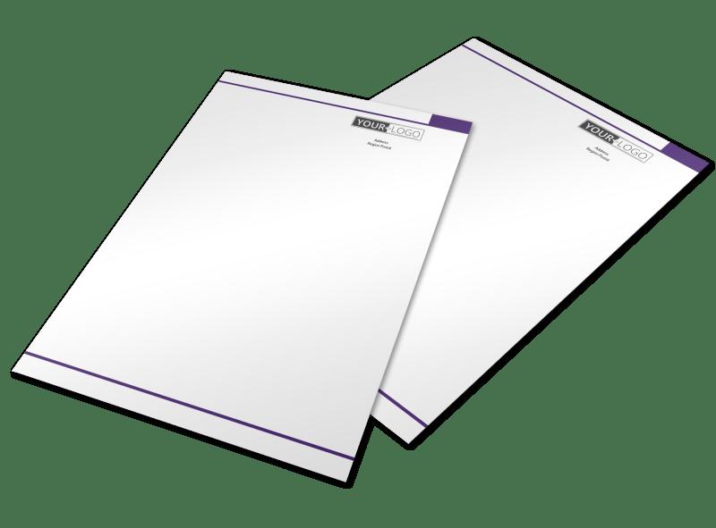 Pediatric Care Letterhead Template Preview 1
