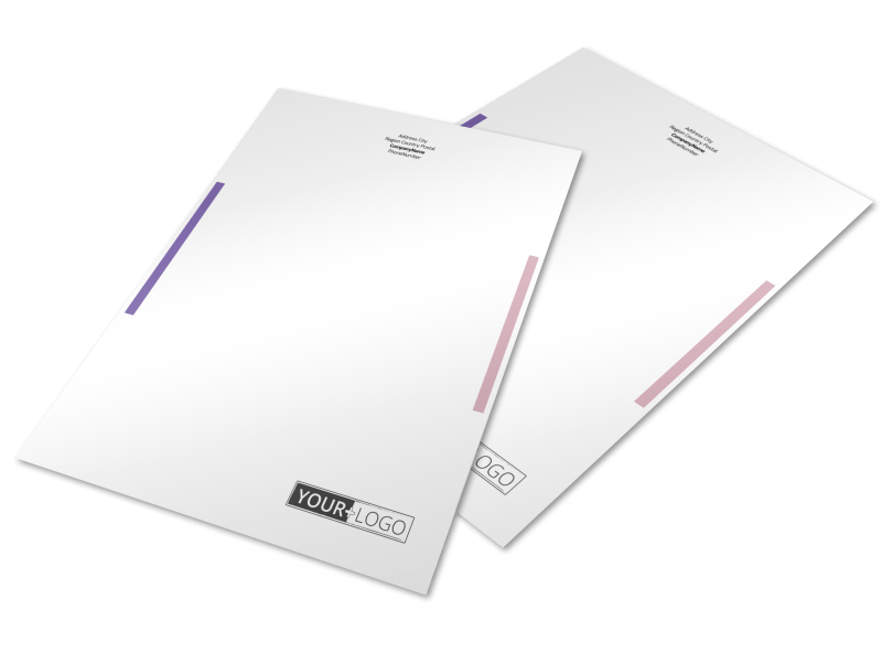 Health Insurance Letterhead Template Preview 1