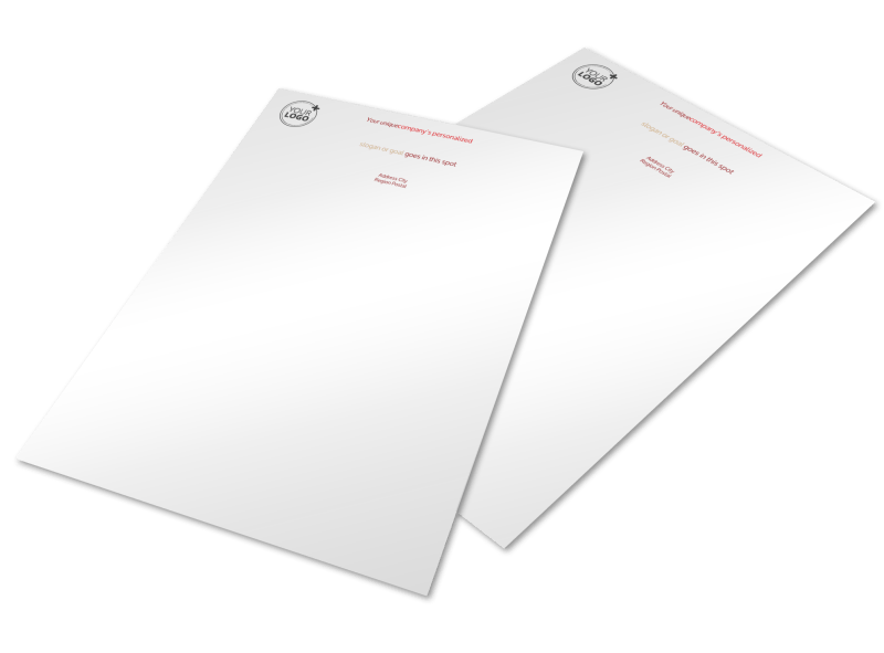 Leading Travel Agents Letterhead Template Preview 1