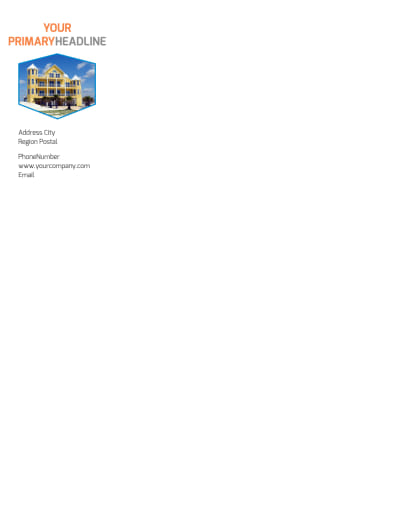 Property Management Letterhead Template Preview 1