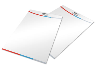 Industrial Cleaning Letterhead Template preview