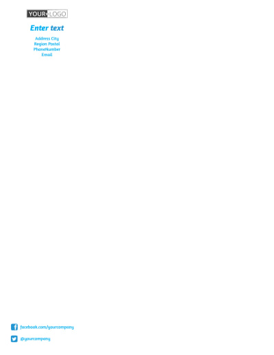 Real Estate Agent Letterhead Template Preview 1