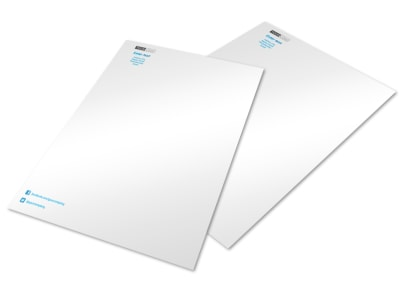 Real Estate Agent Letterhead Template preview
