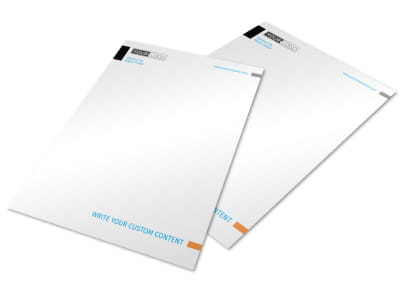 General Photography Letterhead Template preview