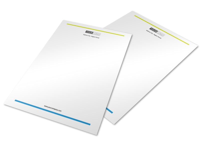 Affordable Daycare Letterhead Template