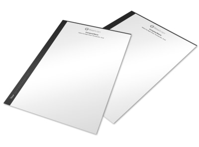 Generic Letterhead Template 10710 preview