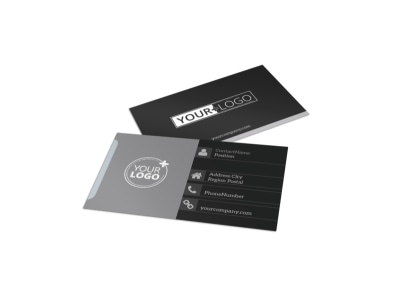 Generic Business Card Template 10951 preview